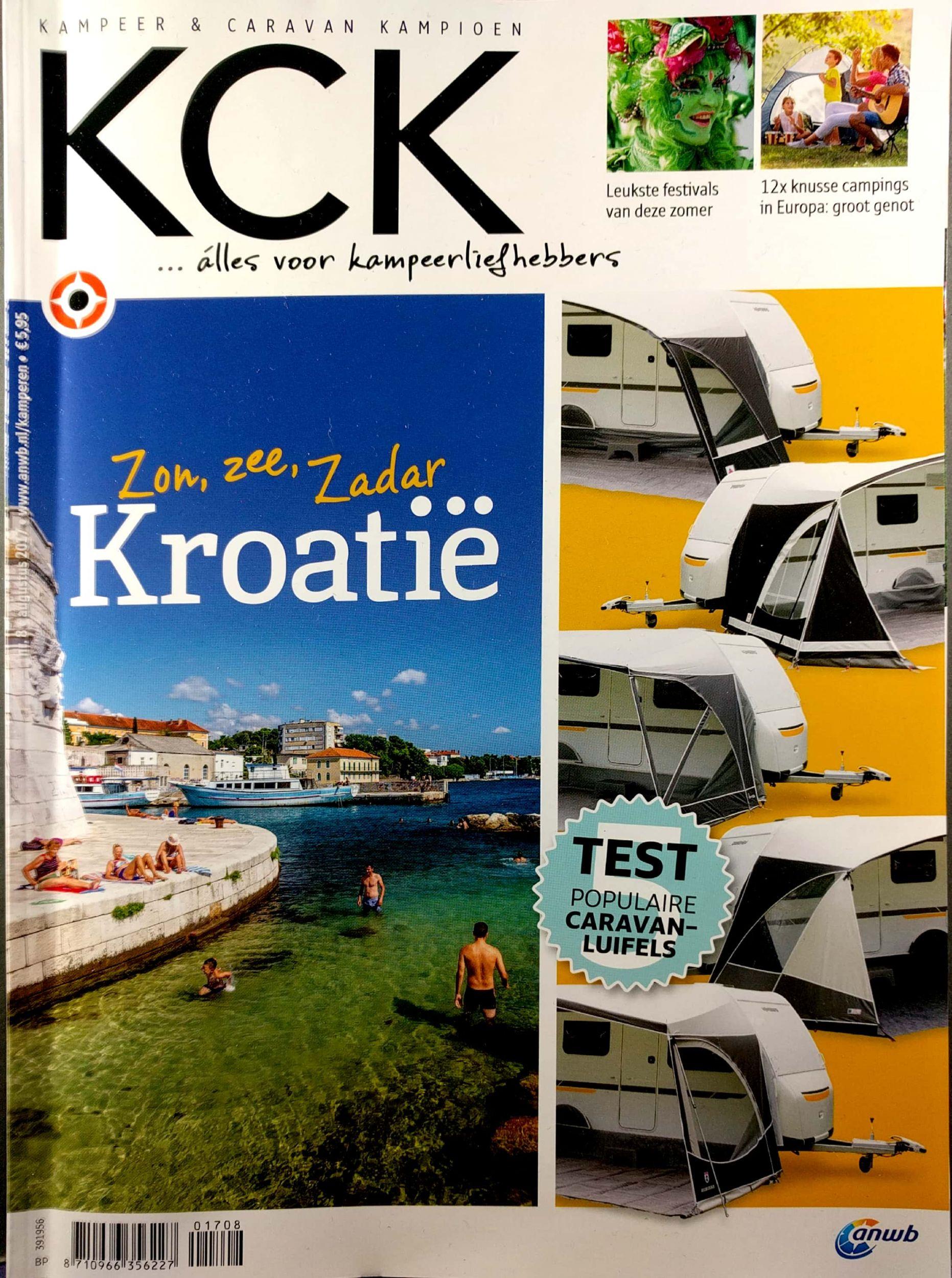 Betere KCK nr 8: Kroatië en caravanluifels getest :: Kampeerproducten NB-78